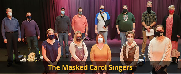 The Masked Carol Singers Event Image